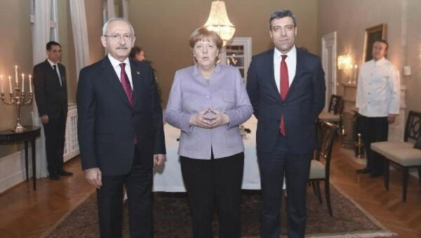 Kemal Kılıçdaroğlu, Angela Merkel ile görüştü - Sputnik Türkiye
