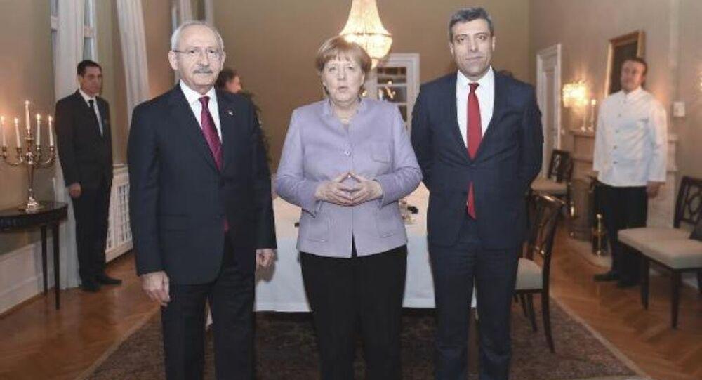 Kemal Kılıçdaroğlu, Angela Merkel ile görüştü