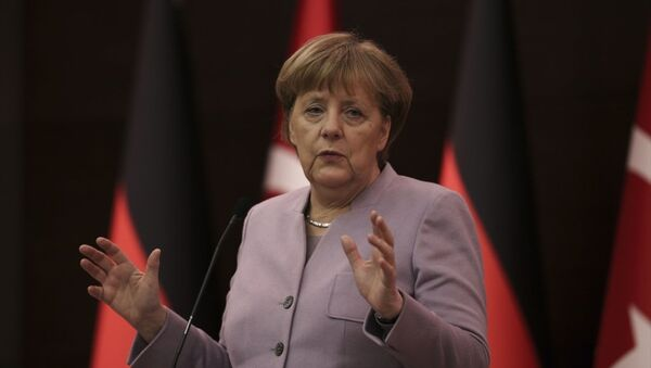 Almanya Başbakanı Angela Merkel Ankara'da - Sputnik Türkiye