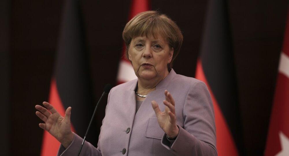 Almanya Başbakanı Angela Merkel Ankara'da