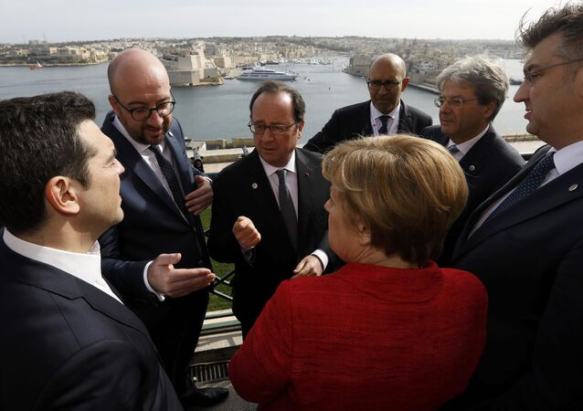 Malta'da gayriresmi AB Liderler Zirvesi yapıldı