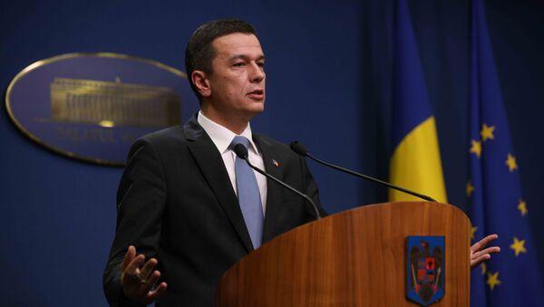 Romanya Başbakanı Sorin Grindeanu - Sputnik Türkiye