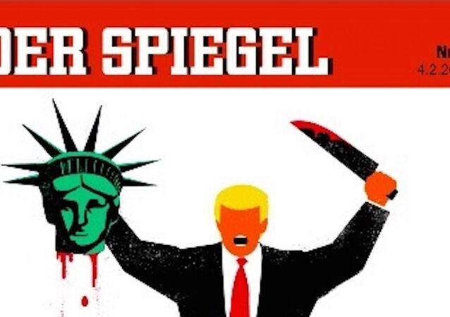 Der Spiegel'in Trump kapağı