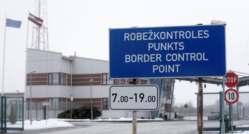 Letonya-Rusya sınırı