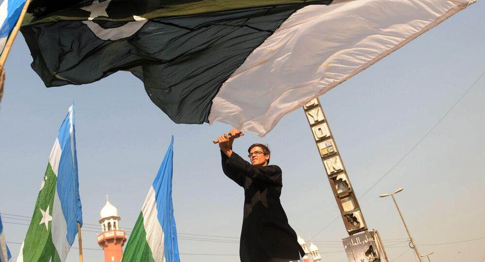 Pakistan bayrağı / Karaçi