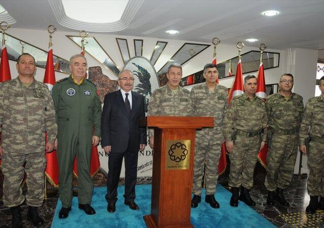 Genelkurmay Başkanı Orgeneral Hulusi Akar, Mardin'de