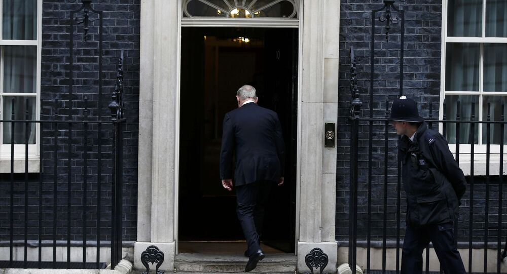 Benyamin Netanyahu - İngiltere