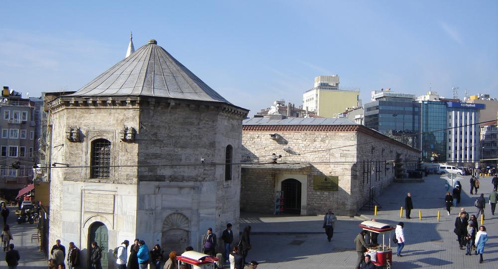 Taksim Camii'nin yapılmasına onay verilen Sular İdaresi alanı