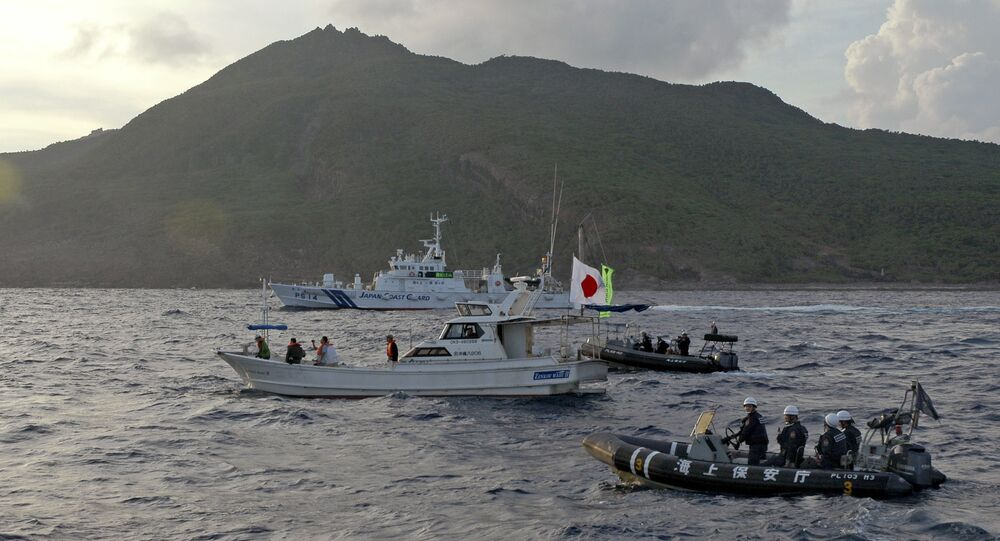 Çin ve Japonya'nın üzerinde hak iddia ettiği Senkaku (Diaoyu) adaları