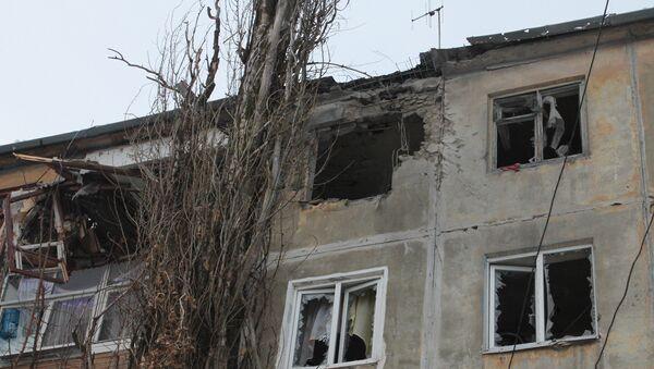 Donetsk after shelling - Sputnik Türkiye