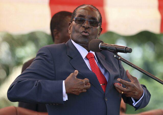 Zimbabwe lideri Mugabe