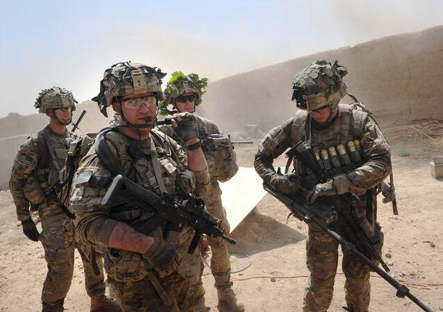 Afganistan'daki ABD birlikleri
