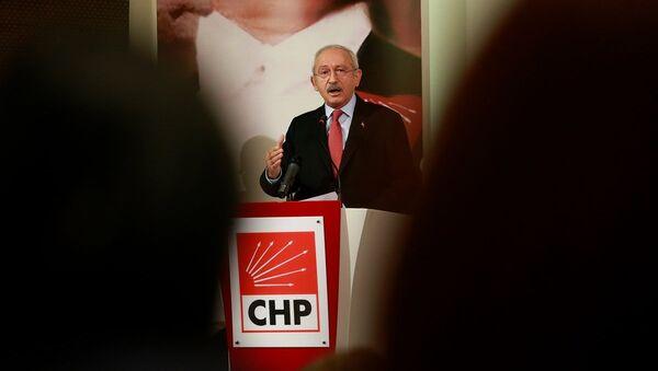 Cumhuriyet Halk Partisi (CHP) Genel Başkanı Kemal Kılıçdaroğlu - Sputnik Türkiye