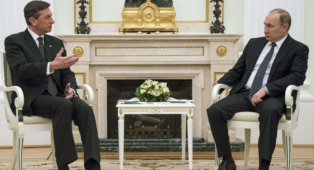 Borut Pahor- Vladimir Putin