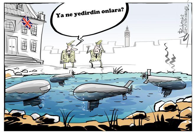 İngiltere'nin denizaltı filosunun tamamı çalışamaz durumda