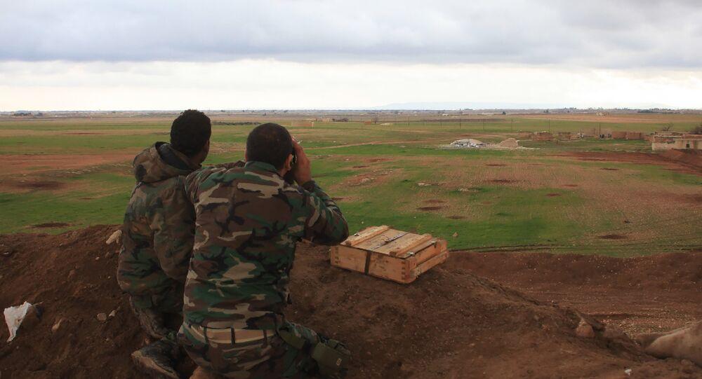 El Bab- Suriye ordusu