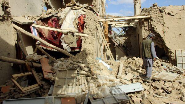 Afganistan'da hava saldırısı - Sputnik Türkiye