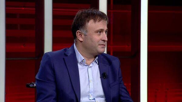 Gazeteci Hakan Çelenk - Sputnik Türkiye