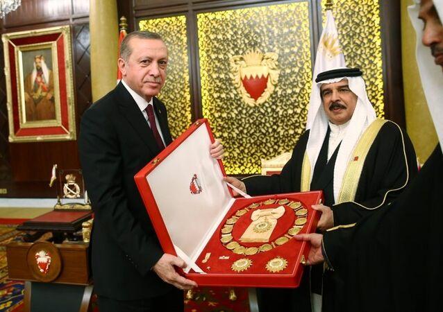 Cumhurbaşkanı Recep Tayyip Erdoğan Bahreyn'de