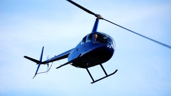 Robinson R44 helikopter - Sputnik Türkiye