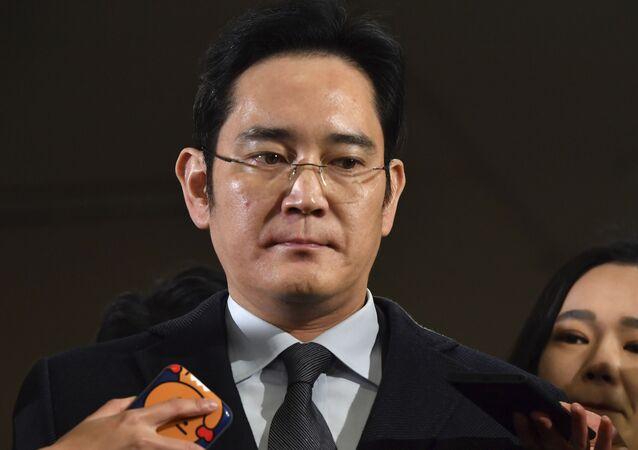 Samsung veliahtı Lee Jae-yong