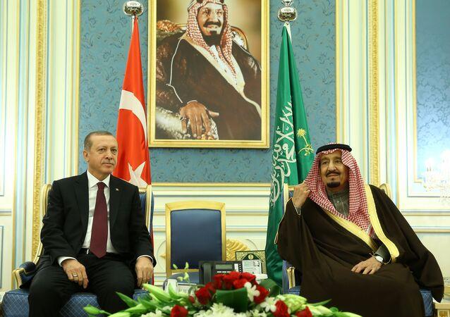 Recep Tayyip Erdoğan - Kral Selman