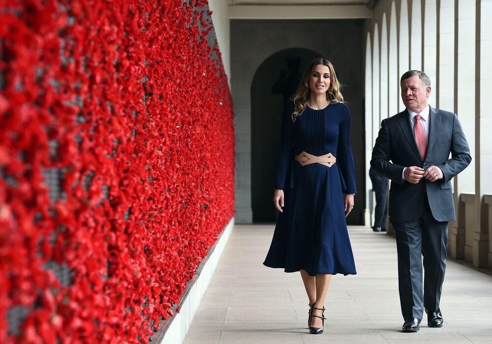 Ürdün Kralı Abdullah ve eşi Kraliçe Rania