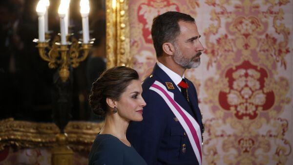 İspanya Kralı 6. Felipe ve eşi Kraliçe Letizia - Sputnik Türkiye