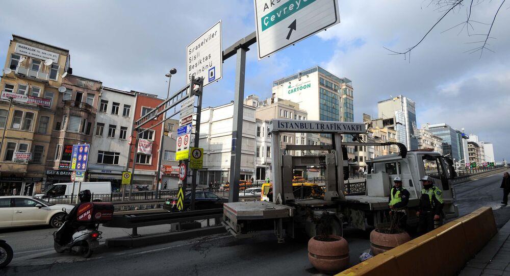 Taksim ve İstiklal Caddesi'nde yollar trafiğe kapatıldı