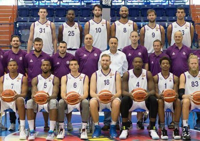 Ironi Nahariya - Gaziantep basketbol takımları