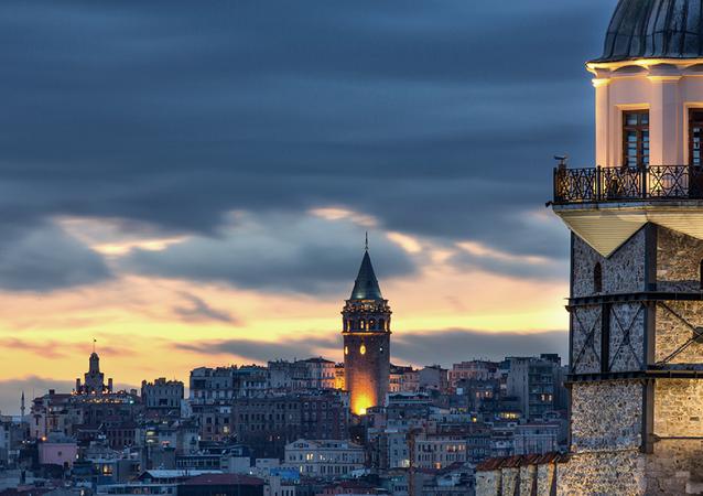 IVR 2017 Kongresi'nin internet sitesinde yer alan İstanbul görüntüsü