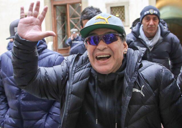 Arjantinli Diego Armando Maradona