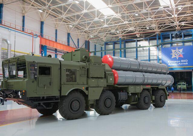 Almaz-Antey üretimi füze savunma sistemi