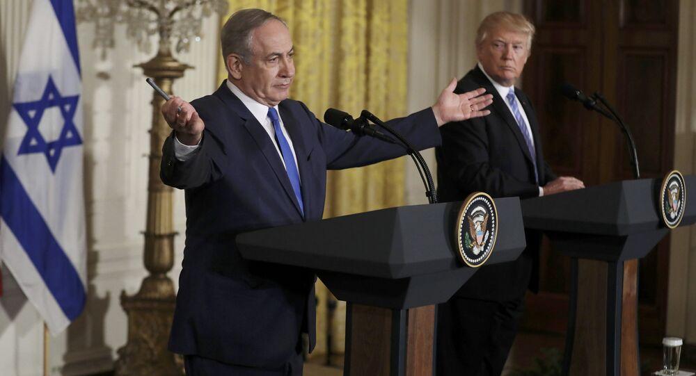 Benyamin Netanyahu -  Donald Trump
