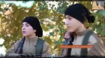 Canlı bomba olarak kullanılan Ezidi çocuklar