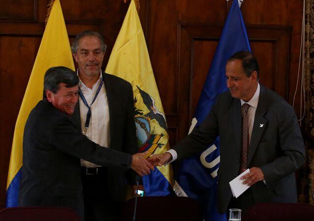 Kolombiya'da hükümet ile ELN arasındaki görüşmeler