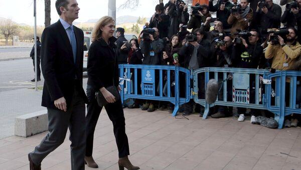 Prenses Cristina ve eşi Iñaki Urdangarin - Sputnik Türkiye