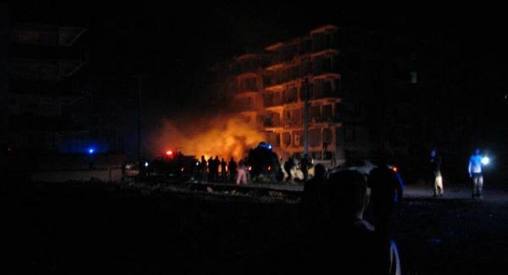 Viranşehir'de patlama