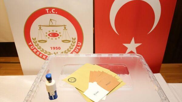 Referandum- 16 Nisan referandumunda kullanılacak oy pusulaları - Sputnik Türkiye