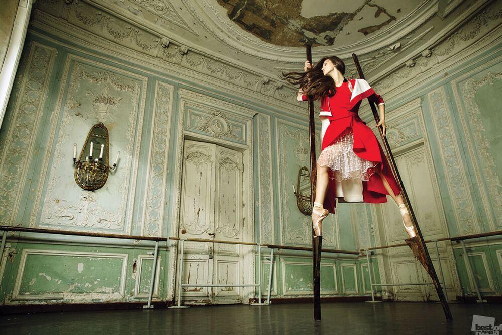 """Mariya Abaşova'nın """"Balerin"""" çalışması."""