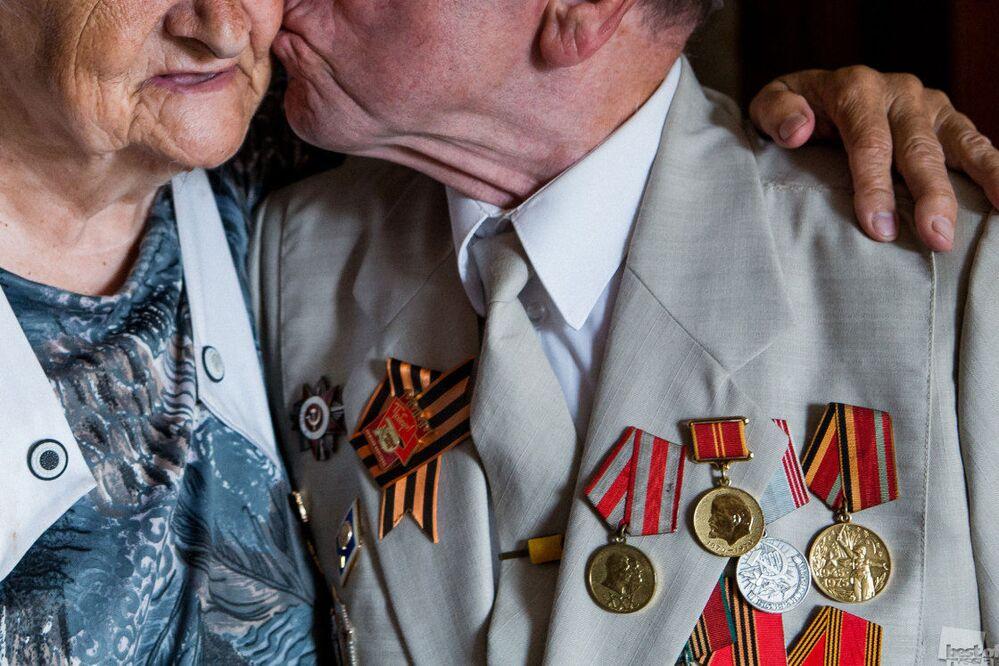 Büyükanne ve büyükbaba.