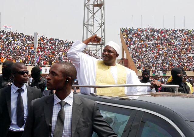 Gambiya'da Adama Barrow dönemi