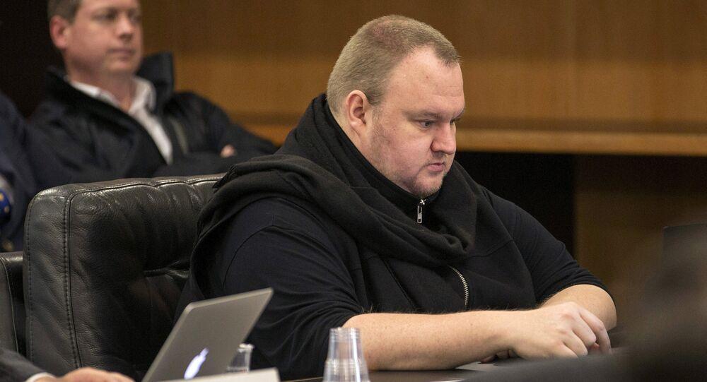 Kim Dotcom Yeni Zelanda'daki mahkemede