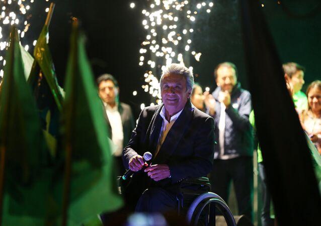 Ekvador devlet başkanı adayı Lenin Moreno