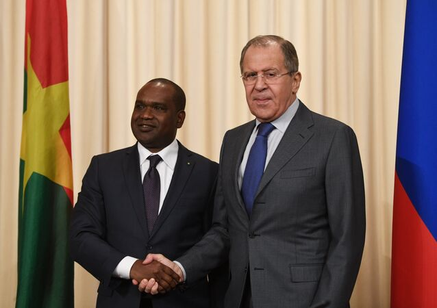 Rusya Dışişleri Bakanı Sergey Lavrov- Burkina Faso Dışişleri Bakanı Djibrill Bassole