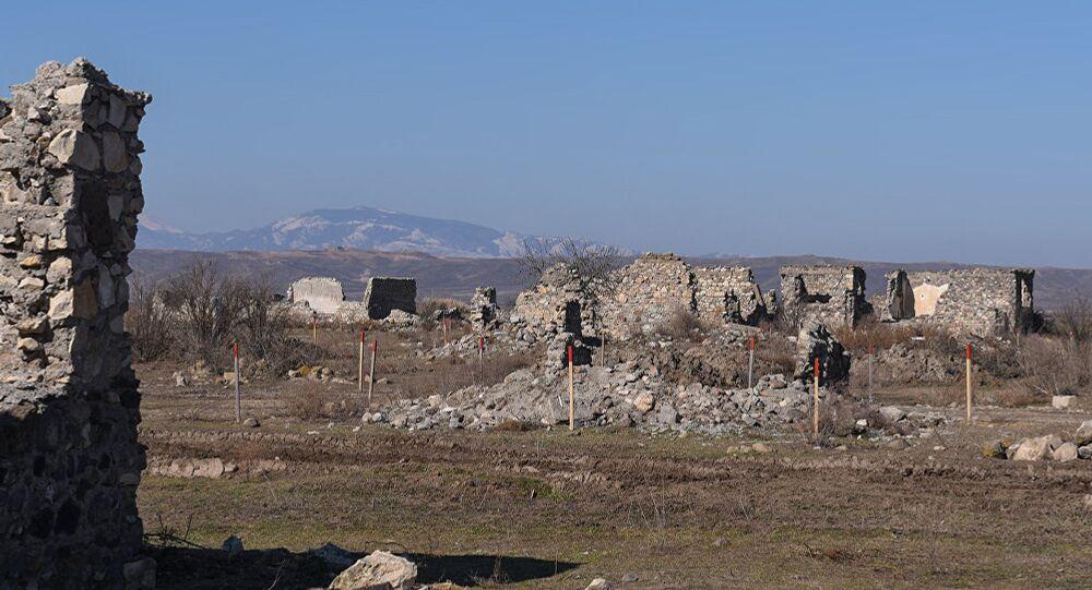 1993 yılında Karabağ Savaşı sırasında köy Ermenistan Silahlı Kuvvetleri'nin askeri birlikleri tarafından işgal edildi.