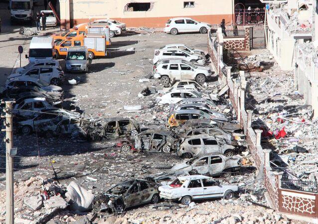 Viranşehir'deki patlamada gözaltı sayısı 44'e yükseldi