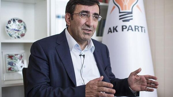 AK Parti Tanıtım ve Medyadan Sorumlu Genel Başkan Yardımcısı Cevdet Yılmaz - Sputnik Türkiye