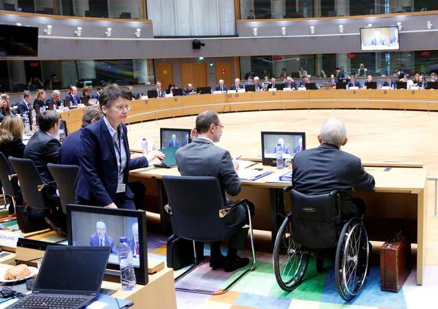 Euro Bölgesi Maliye Bakanları toplantısı