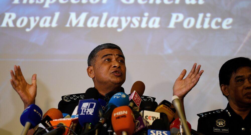 Malezya polis şefi Halit Ebubekir